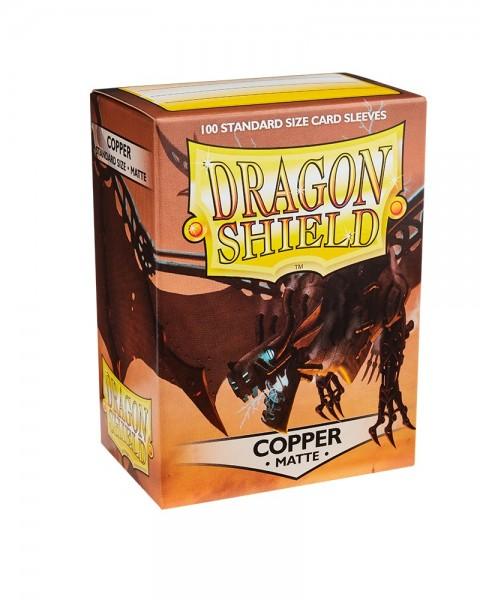 Dragon Shield: Matte – Copper (100)