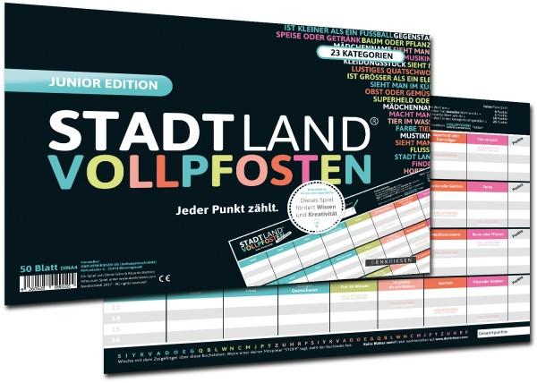 STADT LAND VOLLPFOSTEN – JUNIOR EDITION (DinA4-Format)
