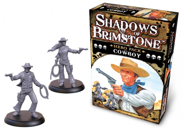 Shadows of Brimstone: Hero Pack – Cowboy [Expansion]