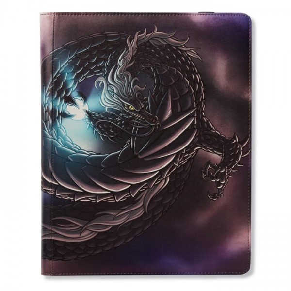 Dragon Shield: 18-Pocket Portfolio Binder – Tao Dong (Black)