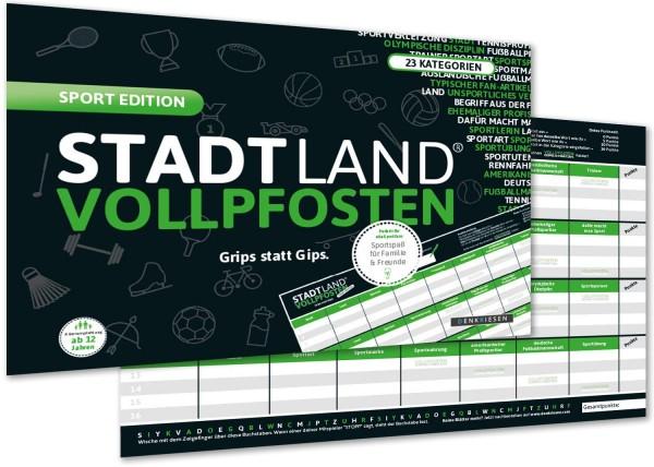 STADT LAND VOLLPFOSTEN – SPORT EDITION (DinA4-Format)