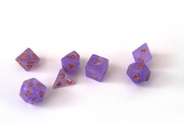 Würfelset Frost: Purple Rain (7)
