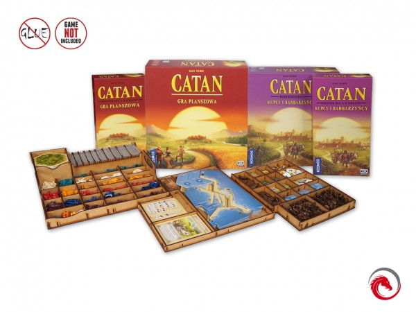 Insert: Catan + Traders & Barbarians + 5-6 Players Expansions