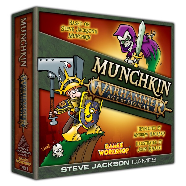 Munchkin Warhammer: Age of Sigmar (englische Ausgabe)