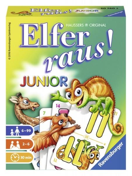 Elfer raus! Junior – Das beliebte Kartenspiel für Kinder ab 6 Jahren