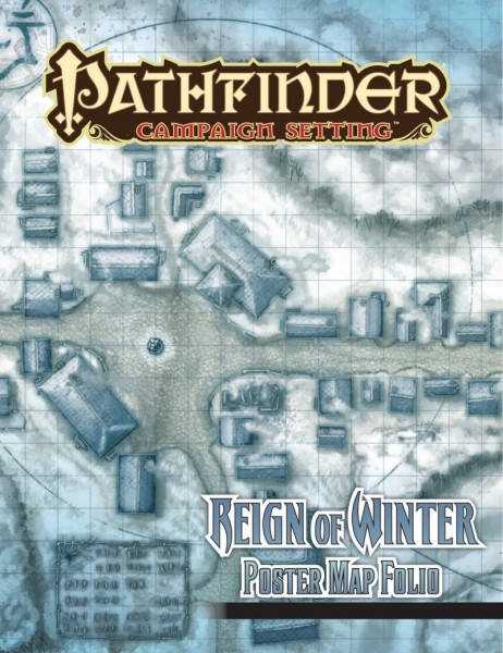 Pathfinder: Reign of Winter Poster Map Folio