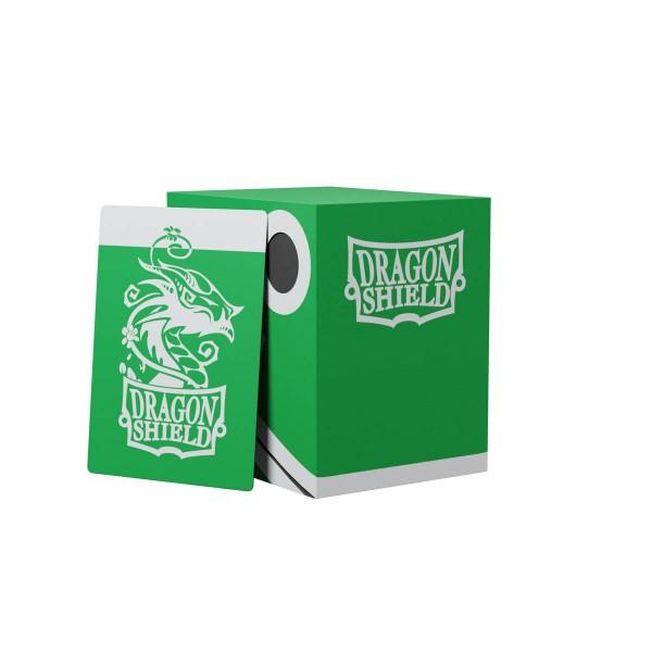 Dragon Shield: Double Deck Shell 150+: Green/Black