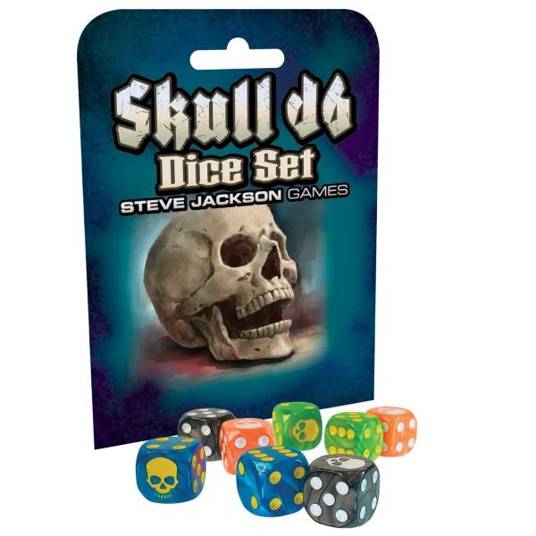 Skull D6 Dice Set (8)