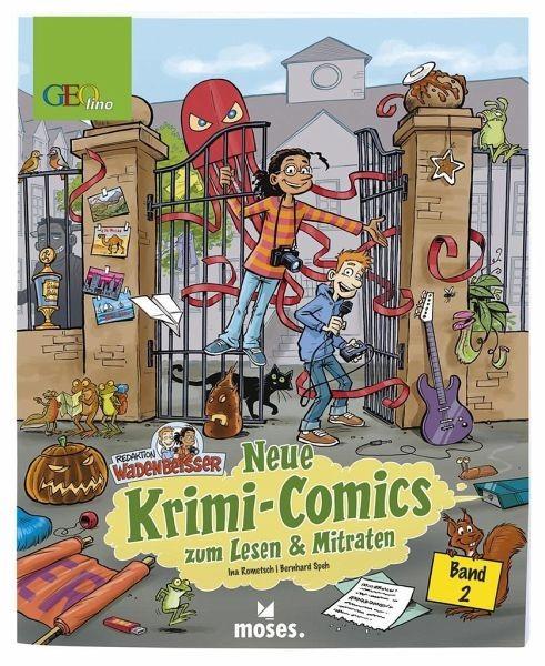 Redaktion Wadenbeißer – Verzwickte Krimi-Comics Bd. 2