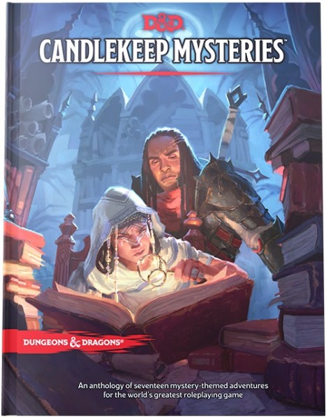 D&D: RPG Adventure Candlekeep Mysteries