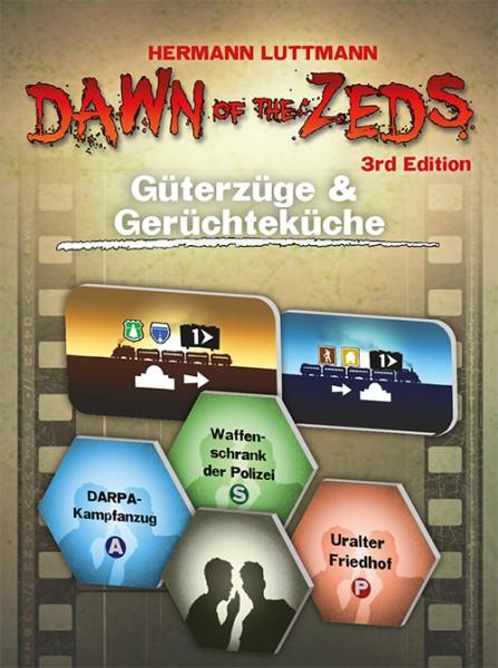 Dawn of the Zeds: Güterzüge und Gerüchteküche [Erweiterung]