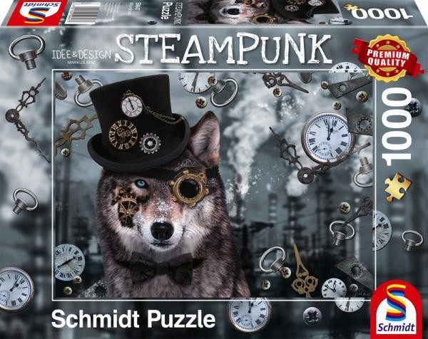 Puzzle: Steampunk Wolf (1000 Teile)