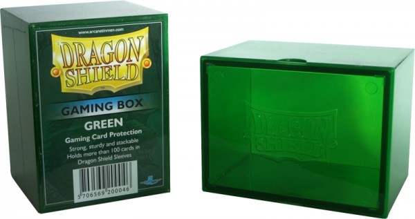 Dragon Shield: Gaming Box – Strong Box 100+: Green