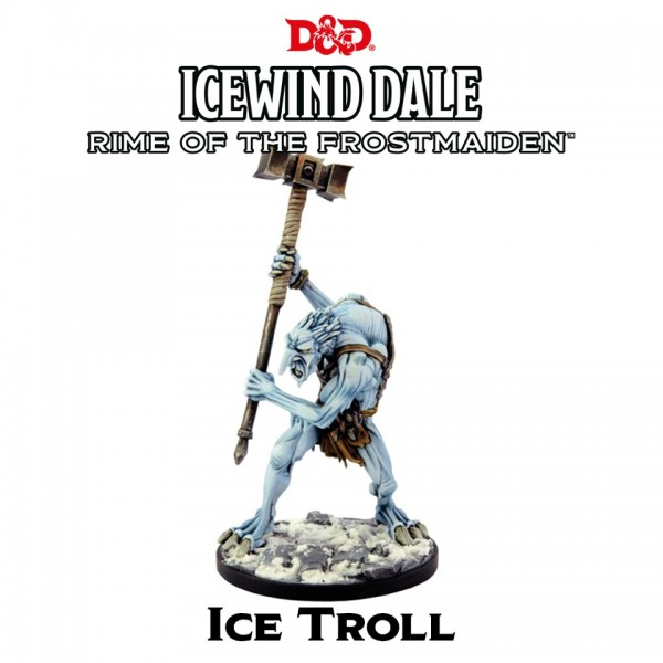 D&D: Icewind Dale - Rime of the Frostmaiden: Ice Troll (1 Figur)