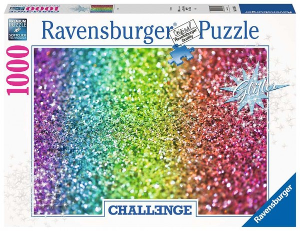 Puzzle: Challenge Glitzer (1000 Teile)