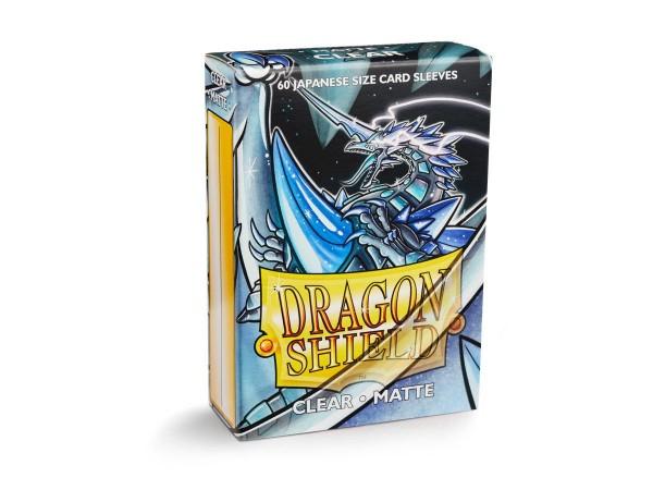 Dragon Shield: Japanese Matte – Clear (60)