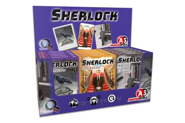 Sherlock – Display III (15 Stück)