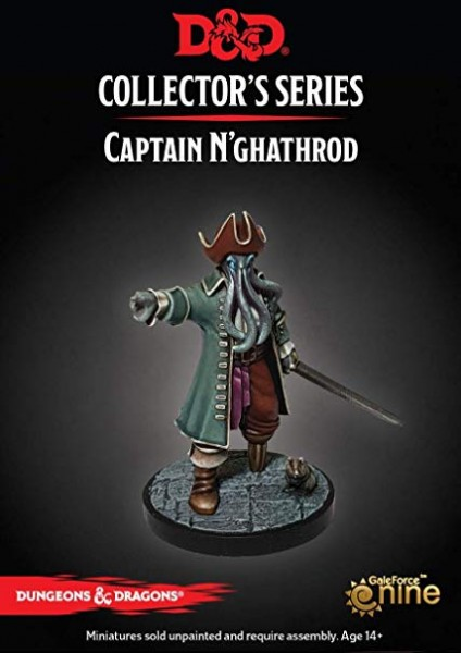 D&D: Dungeon of the Mad Mage - Captain N'ghathrod (1 Figur)