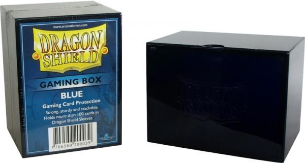 Dragon Shield: Gaming Box - Strong Box 100+: Blue