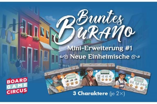 Buntes Burano: Neue Einheimische [Erweiterung]