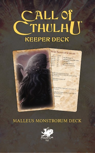 Cthulhu: The Malleus Monstrorum Keeper Deck