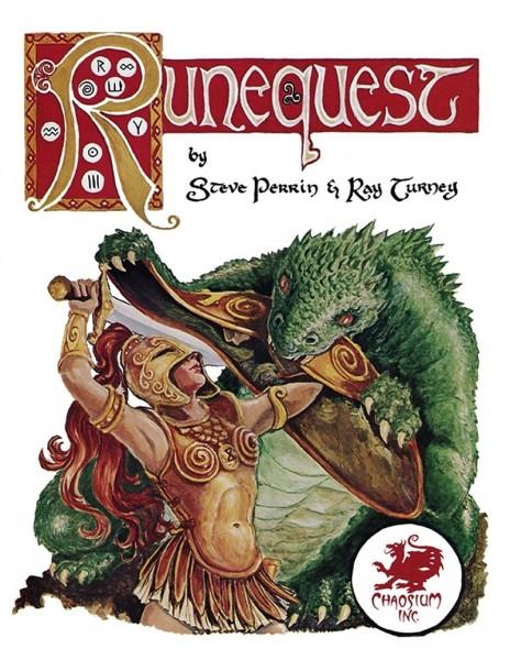 RuneQuest Classic RPG (HC)