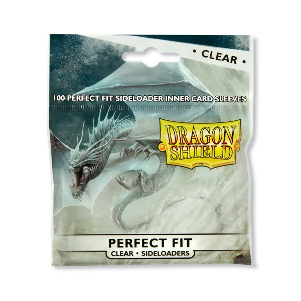 Dragon Shield: Perfect Fit Inner Sleeves – Sideloader - Clear (100)