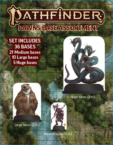 Pathfinder 2.0: Pawn Base Assortment