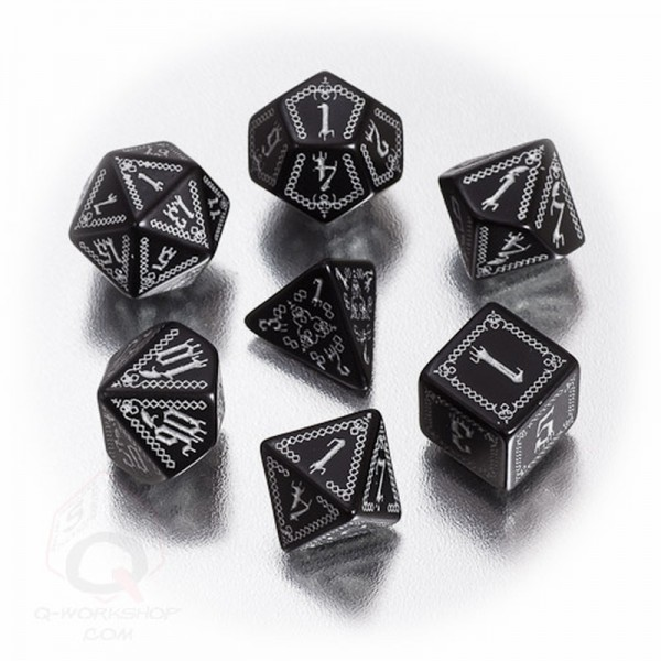 Pathfinder Carrion Dice (7 Stk.)