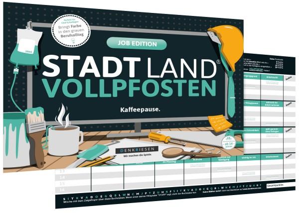 STADT LAND VOLLPFOSTEN – JOB EDITION (DinA4-Format)