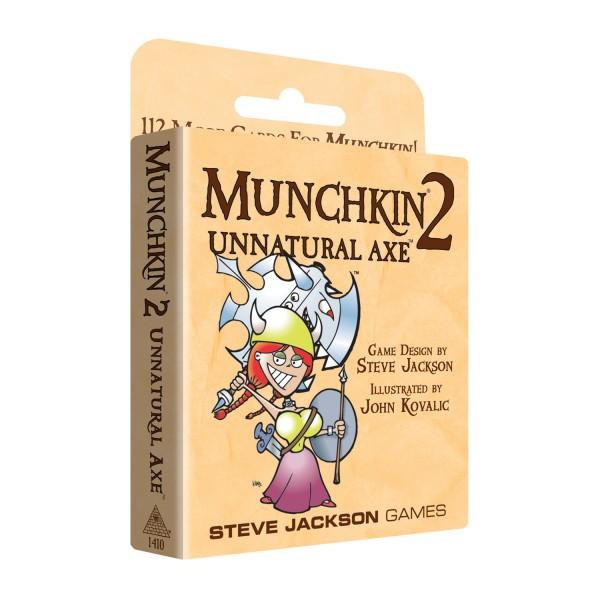 Munchkin 2: Unnatural Axe (englische Ausgabe)