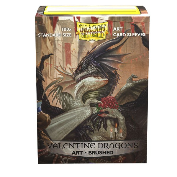 Dragon Shield: ART Sleeves Classic – Valentine Dragons 2021 (100)