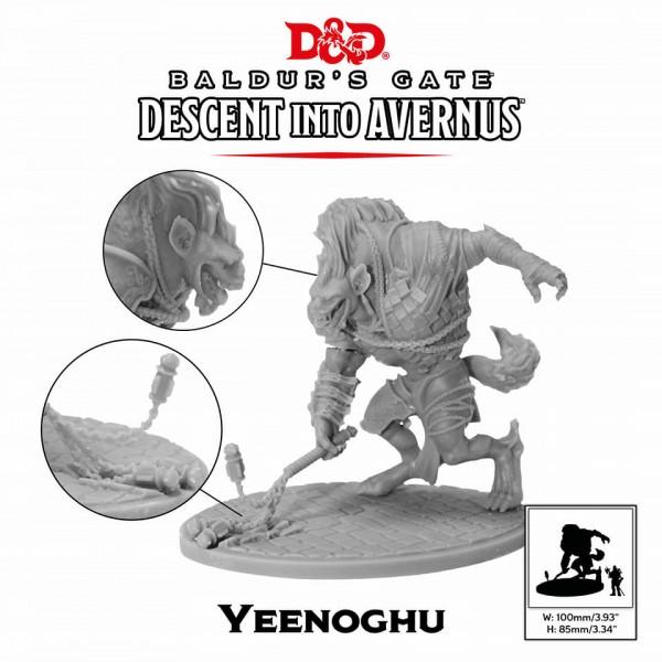 D&D: Descent into Avernus - Yeenoghul (1 Figur)