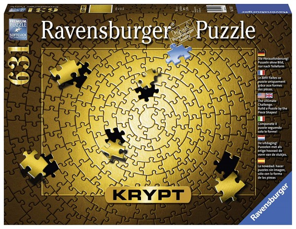 Puzzle: Krypt Gold (631 Teile)
