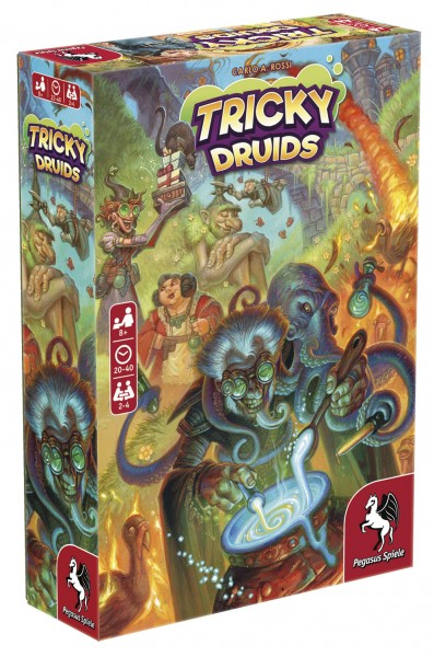 Tricky Druids (English Edition)