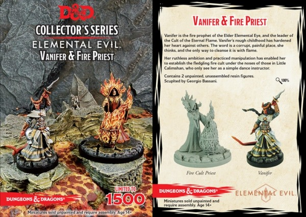 Temple of Elemental Evil: Vanifer & Priest (2 Figuren)