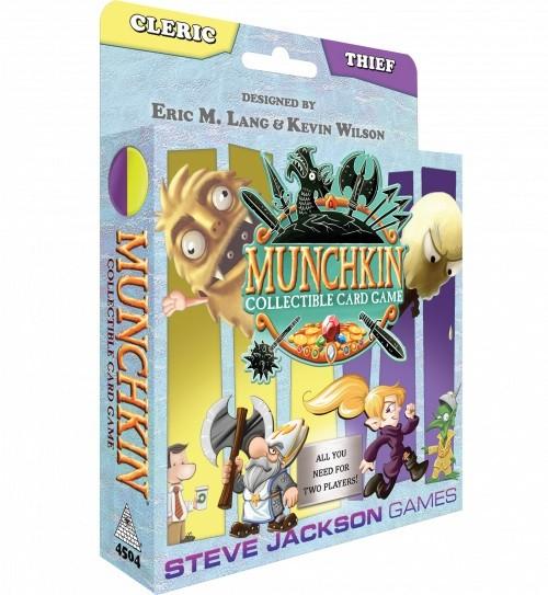 Munchkin CCG: Cleric/Thief Starter Set (englische Ausgabe)