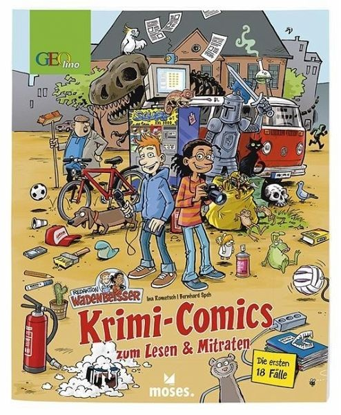 Redaktion Wadenbeißer – Verzwickte Krimi-Comics Bd. 1