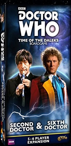 Doctor Who: Time of the Daleks- 2nd & 6th Doctors Expansion