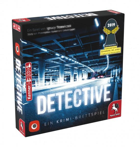 Detective (Portal Games, deutsche Ausgabe) (Nominiert Kennerspiel des Jahres 2019)