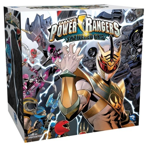 Power Rangers: Heroes of the Grid Shattered Grid Expansion