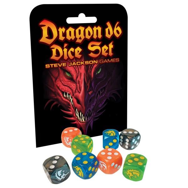 Dragon D6 Dice Set (6)