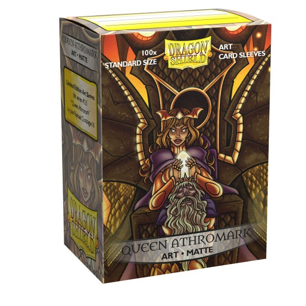 Dragon Shield: ART Sleeves Matte Classic – Queen Athromark: Portrait (100)