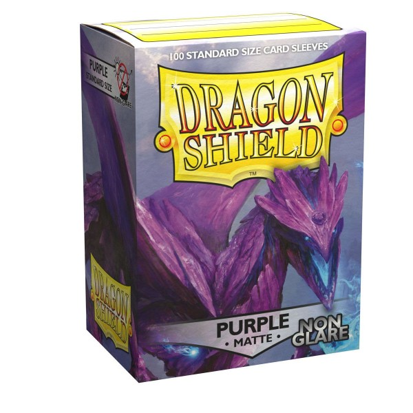Dragon Shield: Matte – Purple, Non Glare (100)
