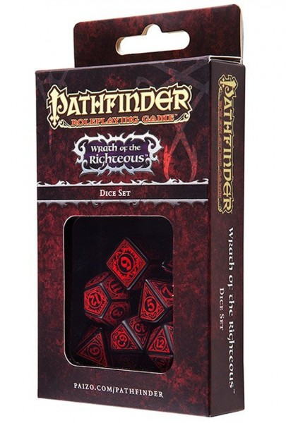 Pathfinder Wrath of the Righteous (7 Stück)