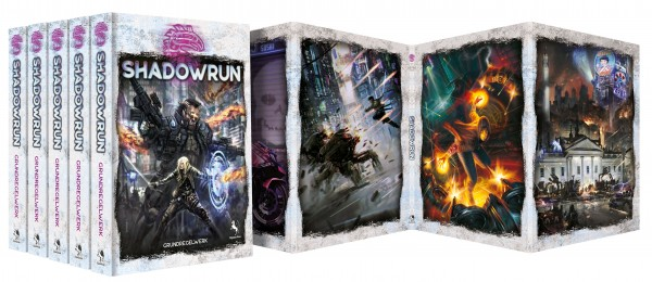 Shadowrun Grundregelwerk, 6. Edition, Spielgruppenbundle