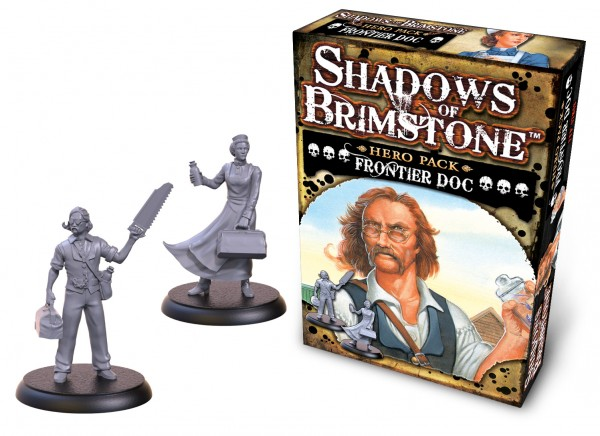Shadows of Brimstone: Hero Pack – Frontier Doc [Expansion]