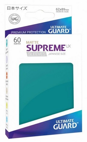 Supreme UX Sleeves Japanese Matte - Petrol (60)