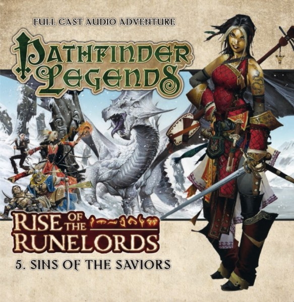Pathfinder Legends: Sins of the Saviors (Audio-CD)
