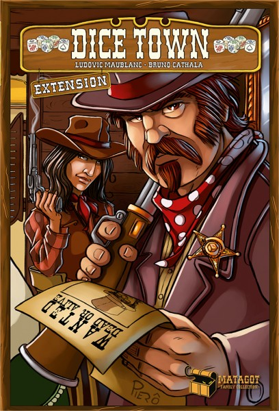 Dice Town Expansion: Wild West